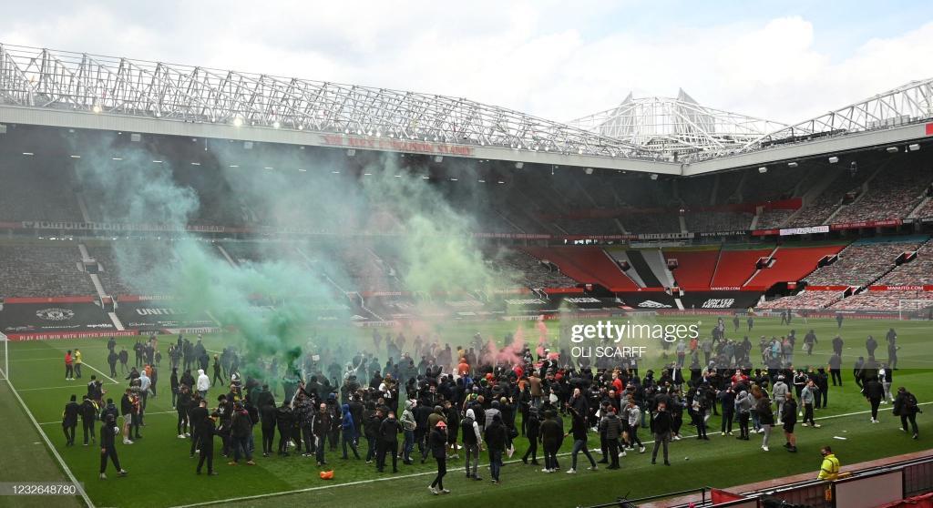 Manchester United : scènes invraisemblables à Old Trafford avant le derby d'Angleterre