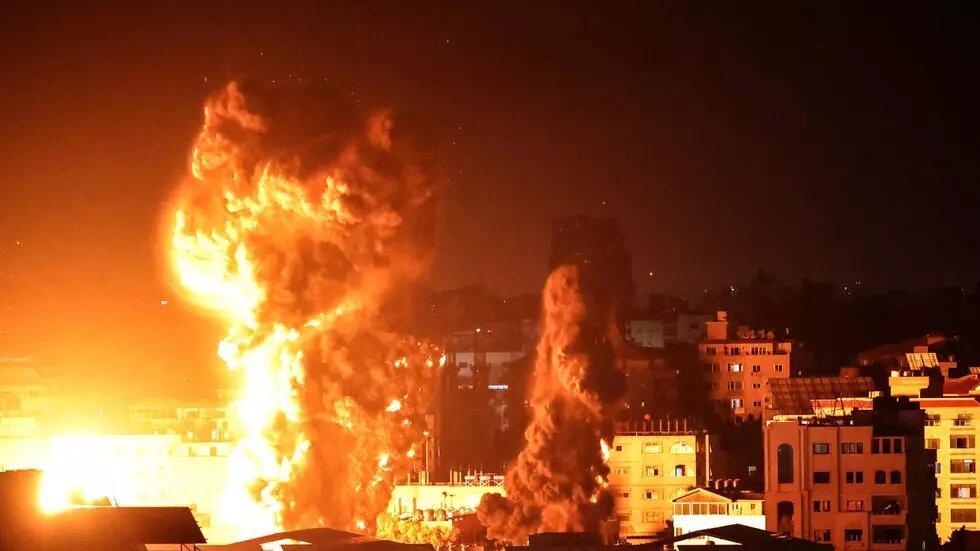 Proche-Orient: nouveau pilonnage de Gaza par Israël, plus de 200 morts en une semaine