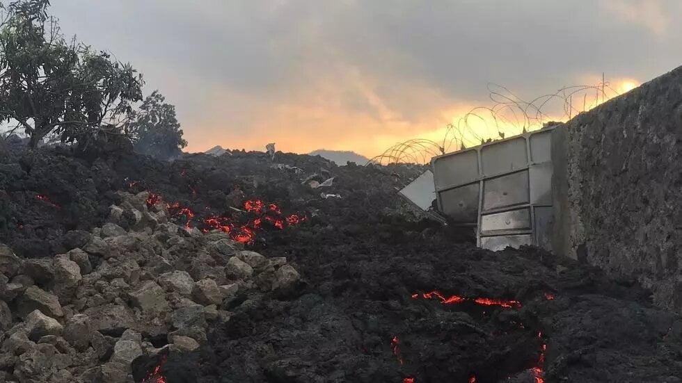 Eruption du volcan Nyiragongo en RDC: la coulée de lave a cessé mais les secousses persistent