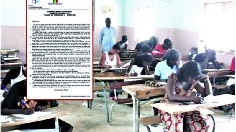Affaire du Bac blanc à Rufisque : De graves révélations faites par des enseignants, collègues de l'auteur du texte