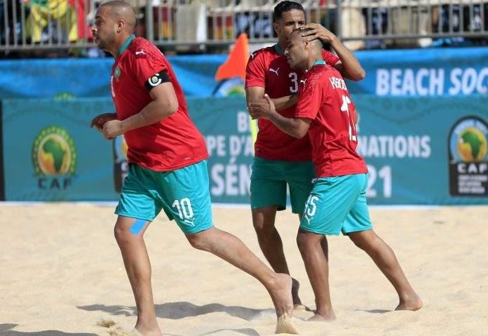 CAN de Beach Soccer : le Maroc élimine l'Egypte et affrontera le Sénégal !