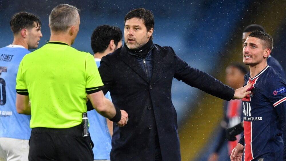 Manchester City-PSG (2-0) : les réactions de Leonardo, Pochettino et Marquinhos
