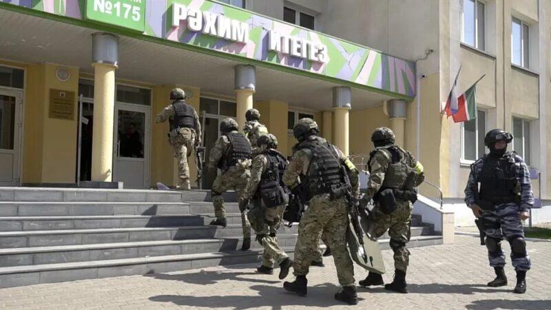 Russie : au moins sept morts lors d'une fusillade dans une école à Kazan