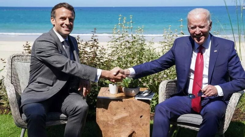 G7: rencontre entre Macron et Biden pour renforcer les liens entre Paris et Washington