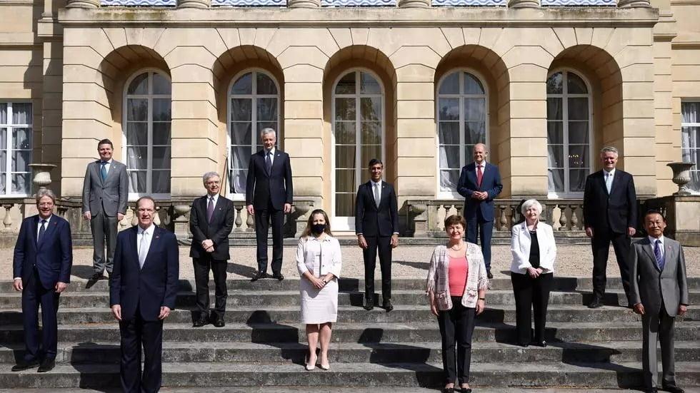 Le G7 s'engage sur un taux mondial pour l'impôt sur les sociétés de 15% minimum