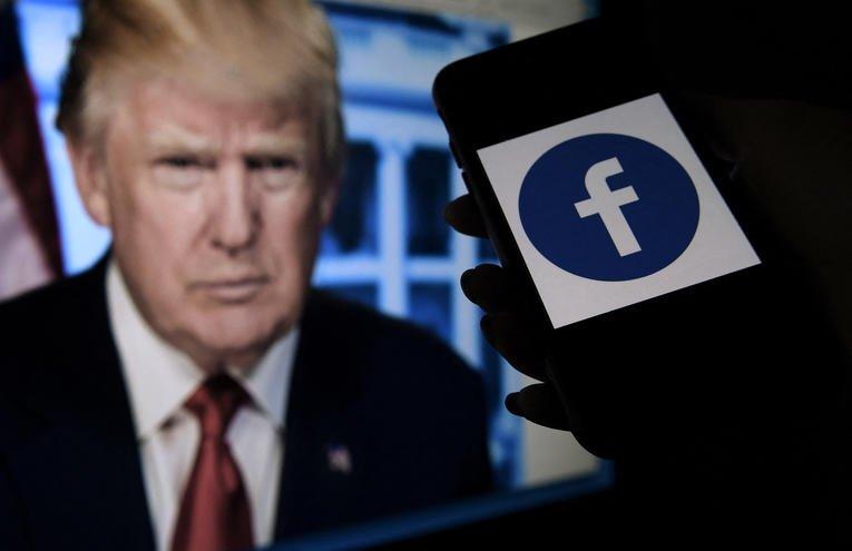 Facebook suspend l'ex-président américain Donald Trump pour deux ans