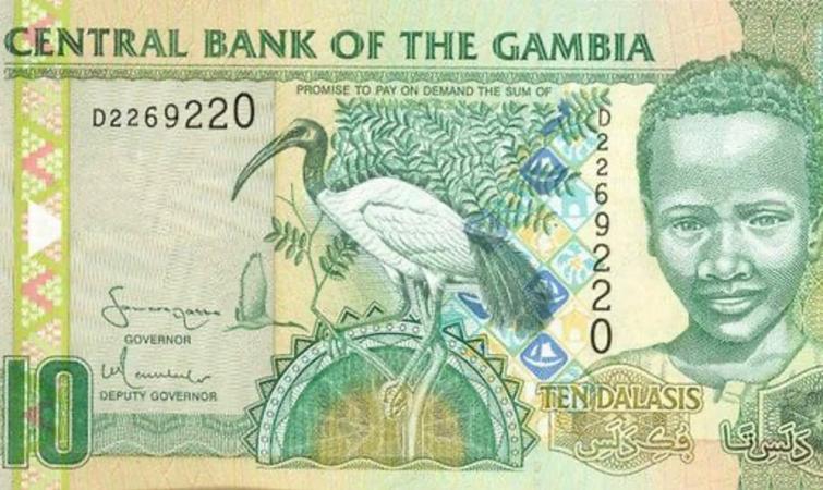 La Gambie prévoit d'imprimer ses billets de Dalasi au Nigéria