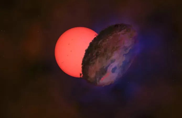 """Des astronomes découvrent une """"étoile géante clignotante"""" 100 fois plus grande que notre soleil"""