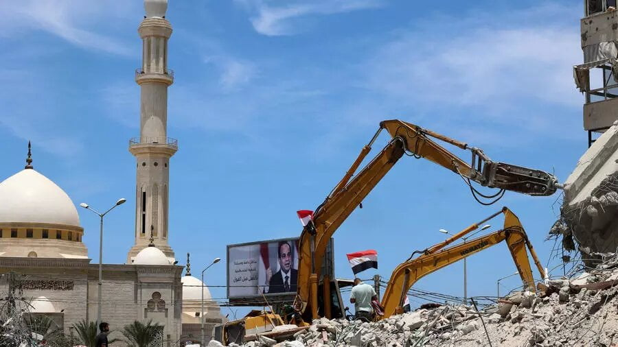 Gaza: un ambitieux plan de reconstruction lancé par l'Égypte