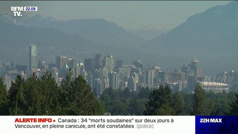 Canada: 34 «morts soudaines» sur deux jours à Vancouver, en pleine canicule