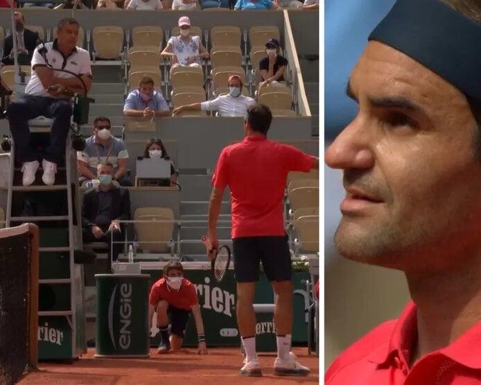 Tennis : Vexé par un avertissement, Federer recadre l'arbitre