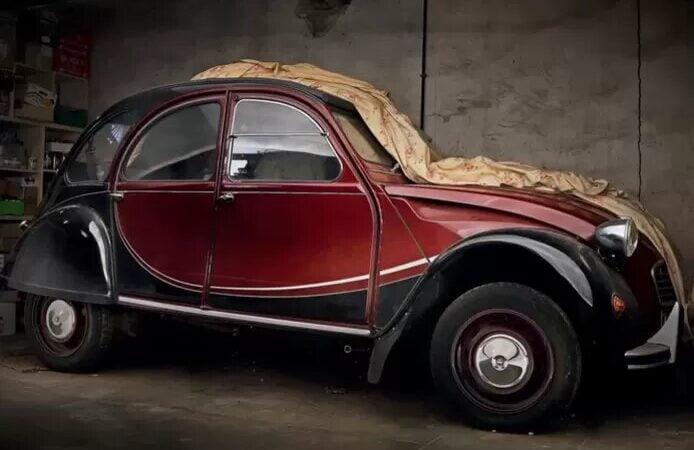 Cette voiture mise aux enchères n'a parcouru que 39 kilomètres en 39 ans