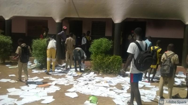 La série de saccages des écoles continue : Après Hann, les élèves de Sindia brûlent la salle des profs