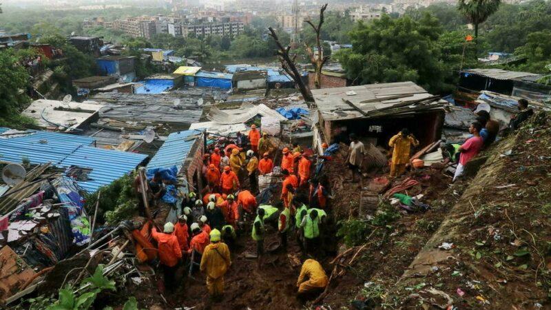 Inde: des dizaines de morts et de disparus après des pluies diluviennes