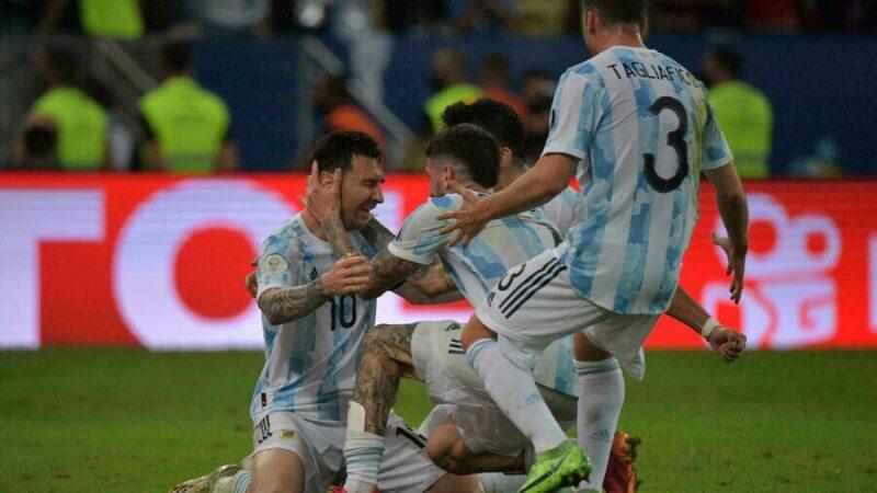 Copa America: Messi enfin couronné avec l'Argentine en terrassant le Brésil