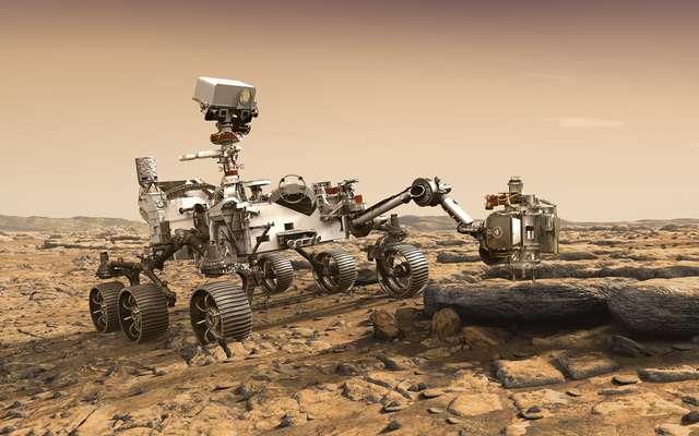 Espace : le rover de la Nasa s'apprête à collecter des échantillons de roches martiennes