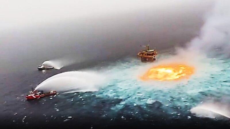 Golfe du Mexique: ce que l'on sait de l'»oeil de feu», un incendie observé à la surface de l'eau