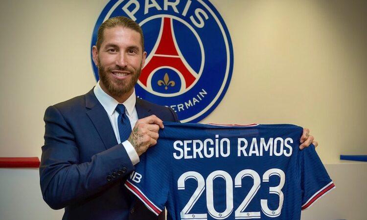 C'est officiel, Sergio Ramos signe au PSG jusqu'en 2023